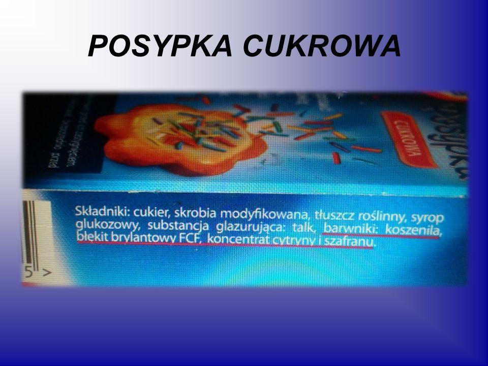 POSYPKA CUKROWA