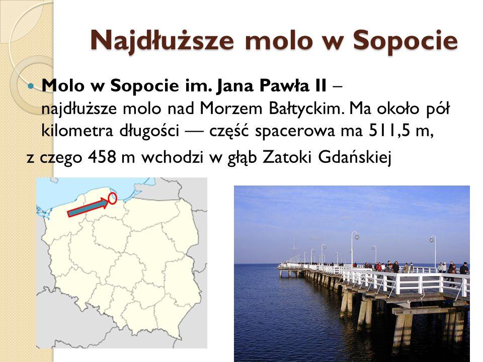 Najdłuższe molo w Sopocie