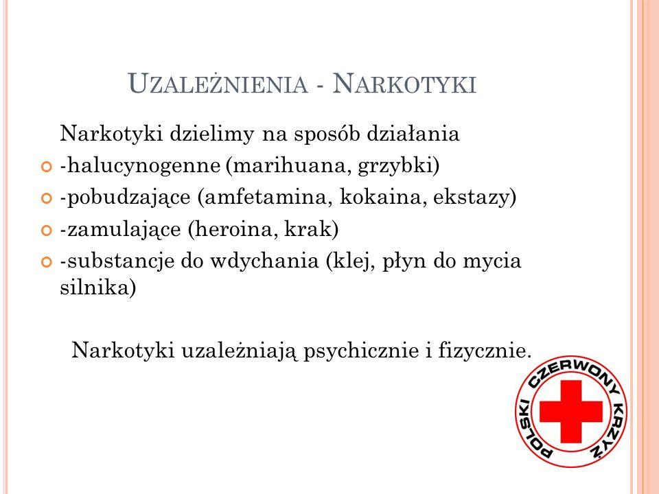 Uzależnienia - Narkotyki