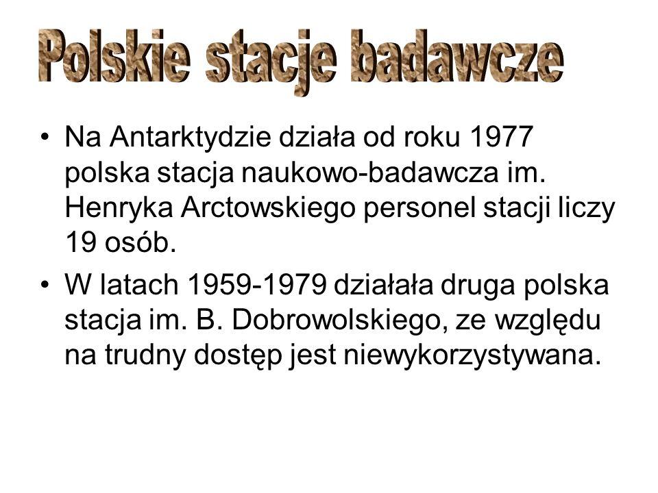 Polskie stacje badawcze
