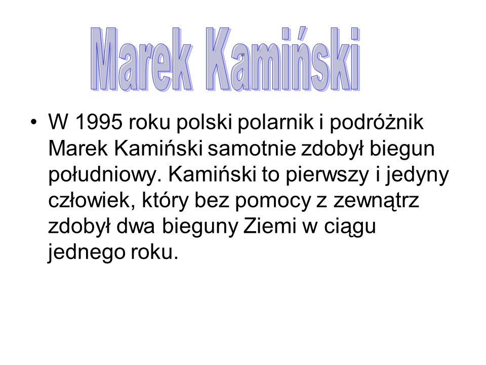 . Marek Kamiński.