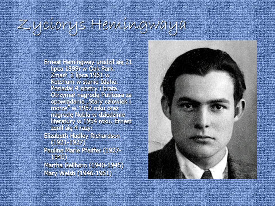 Zyciorys Hemingwaya
