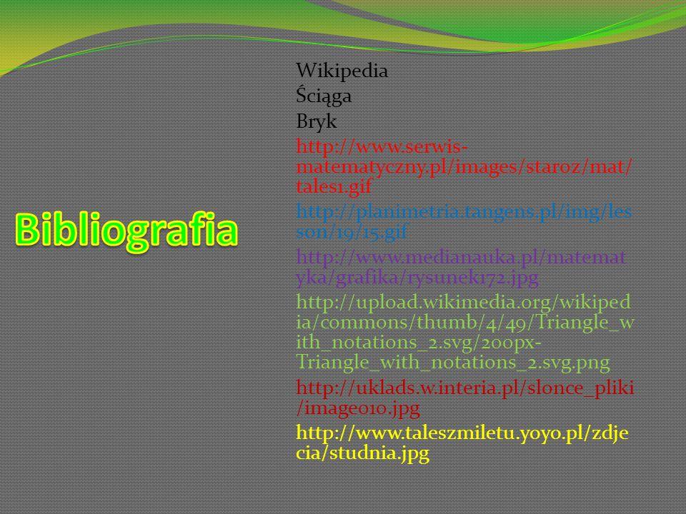 Bibliografia Wikipedia Ściąga Bryk