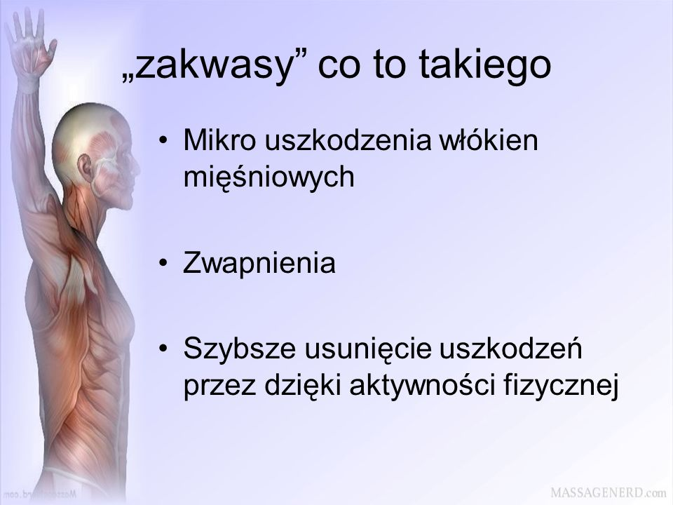 """zakwasy co to takiego"