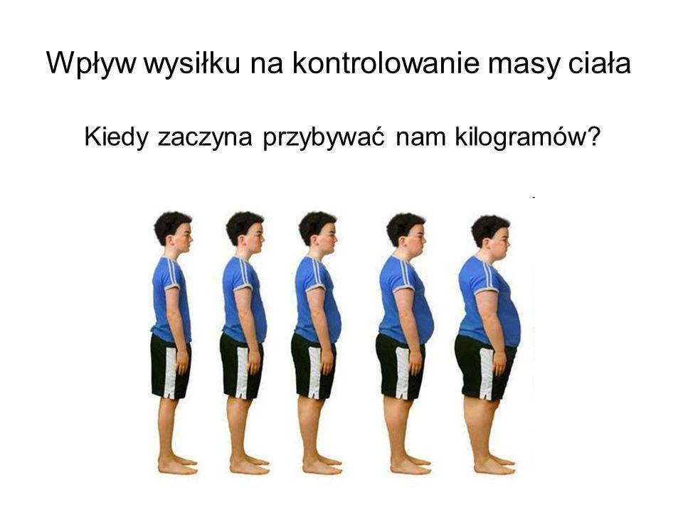 Wpływ wysiłku na kontrolowanie masy ciała