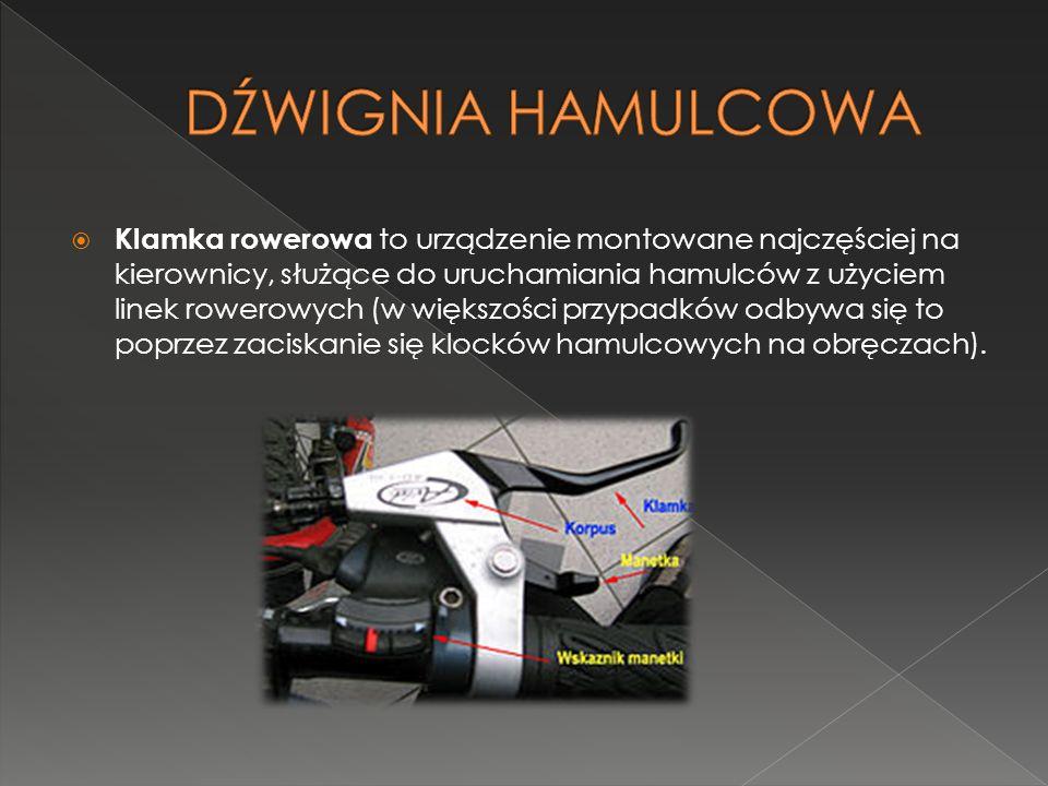 DŹWIGNIA HAMULCOWA