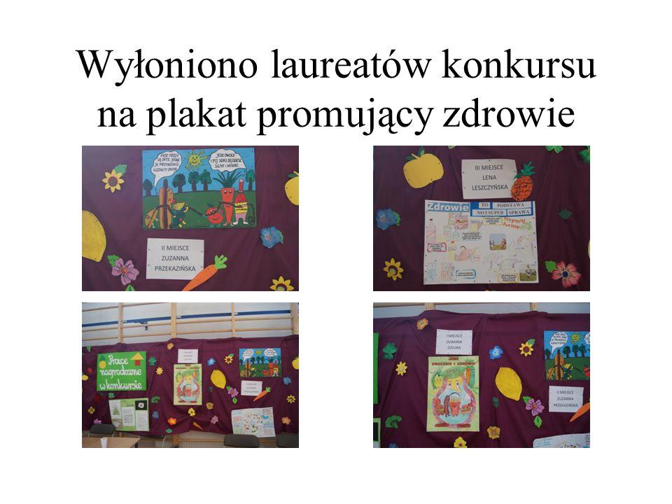 Wyłoniono laureatów konkursu na plakat promujący zdrowie