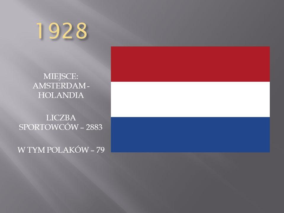 MIEJSCE: AMSTERDAM - HOLANDIA