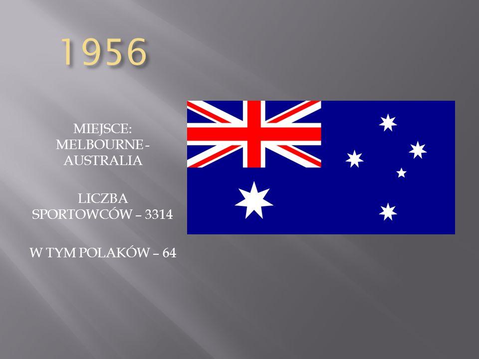 MIEJSCE: MELBOURNE - AUSTRALIA