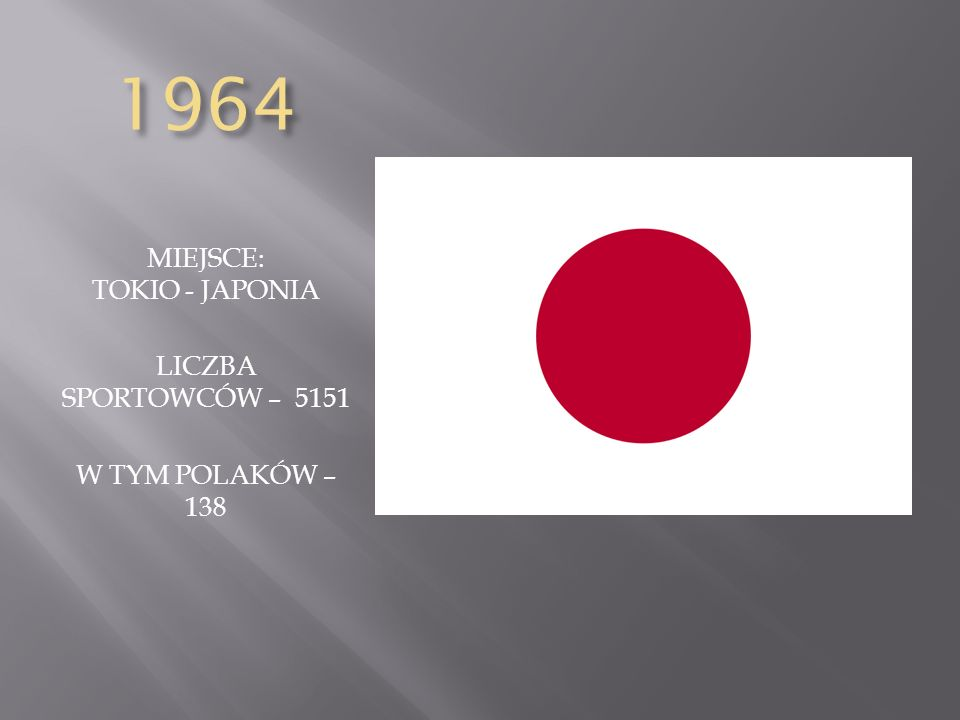 MIEJSCE: TOKIO - JAPONIA