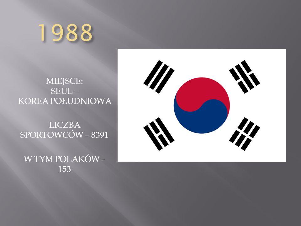 MIEJSCE: SEUL – KOREA POŁUDNIOWA