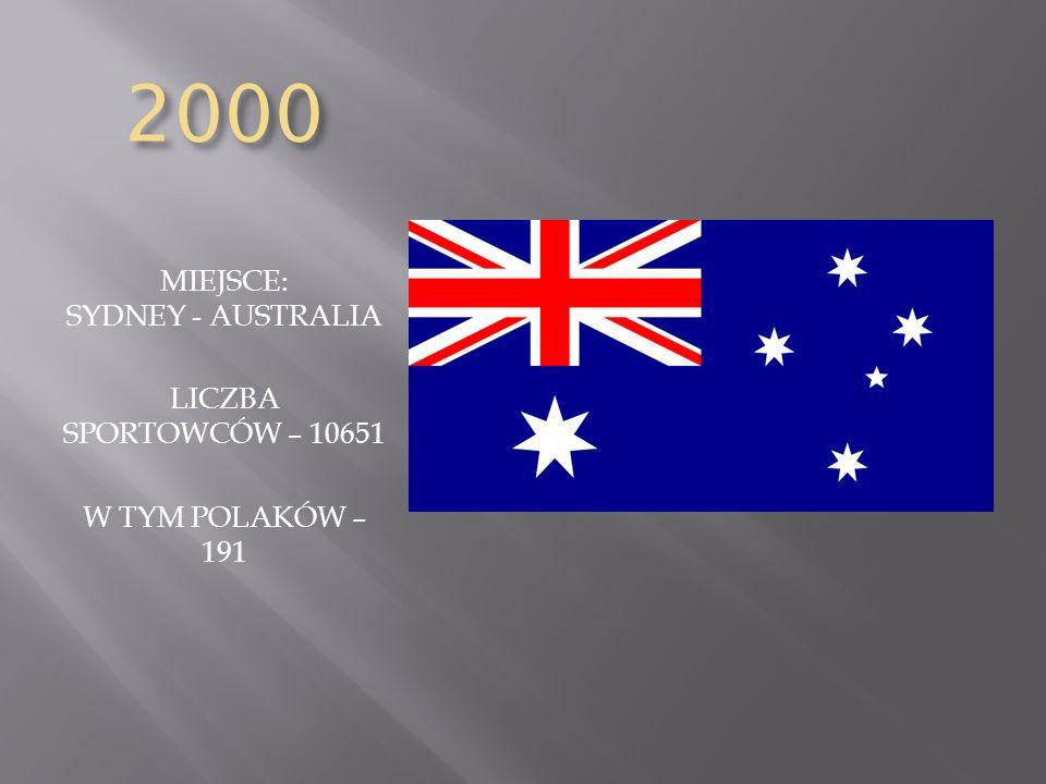 MIEJSCE: SYDNEY - AUSTRALIA