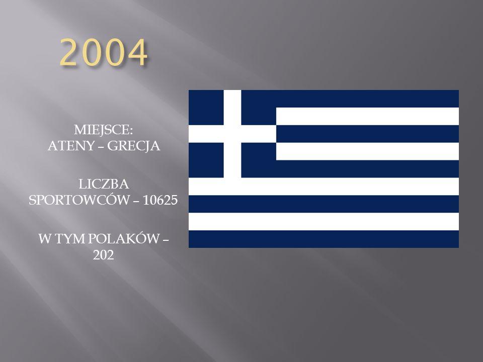 MIEJSCE: ATENY – GRECJA
