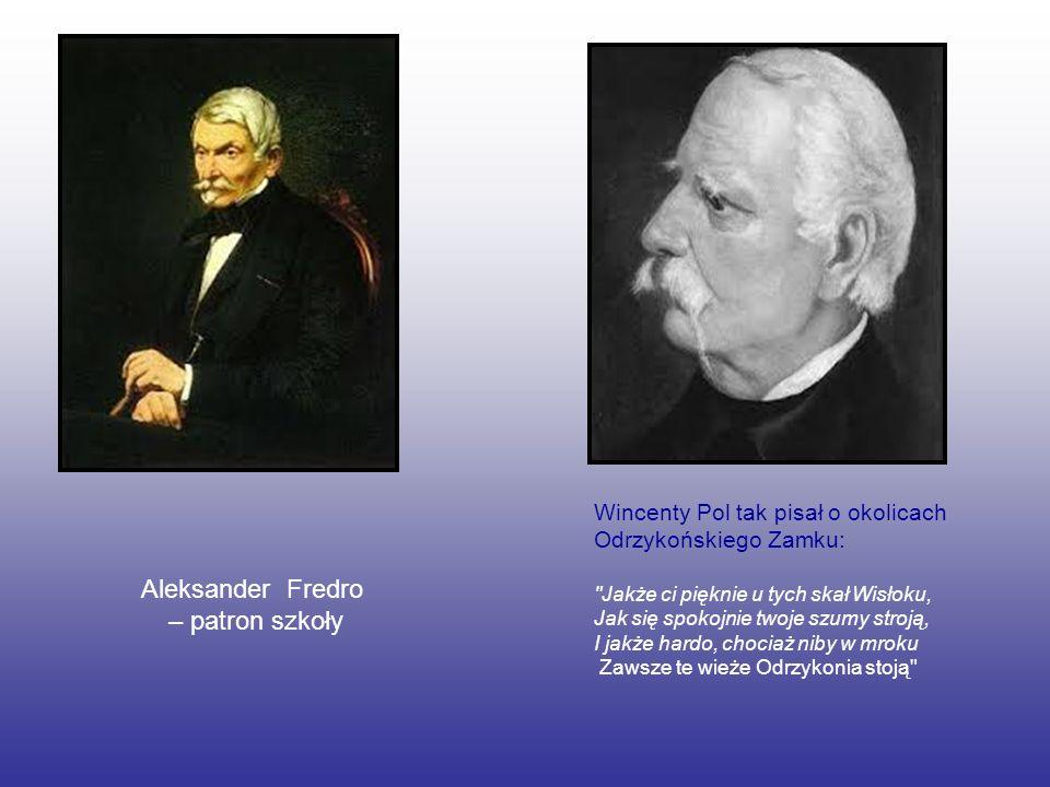 Aleksander Fredro – patron szkoły