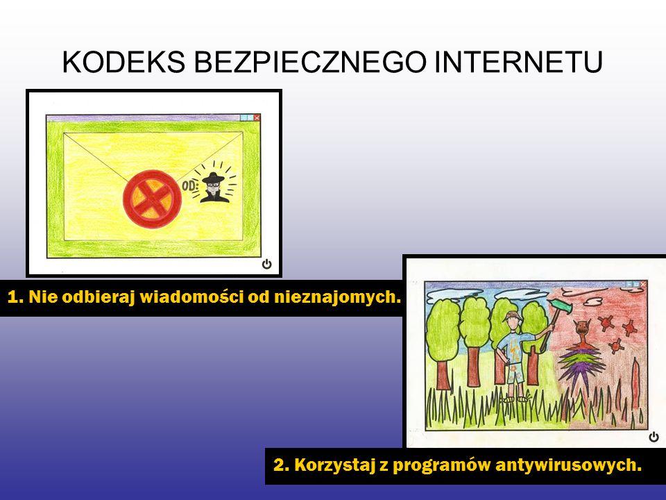 KODEKS BEZPIECZNEGO INTERNETU