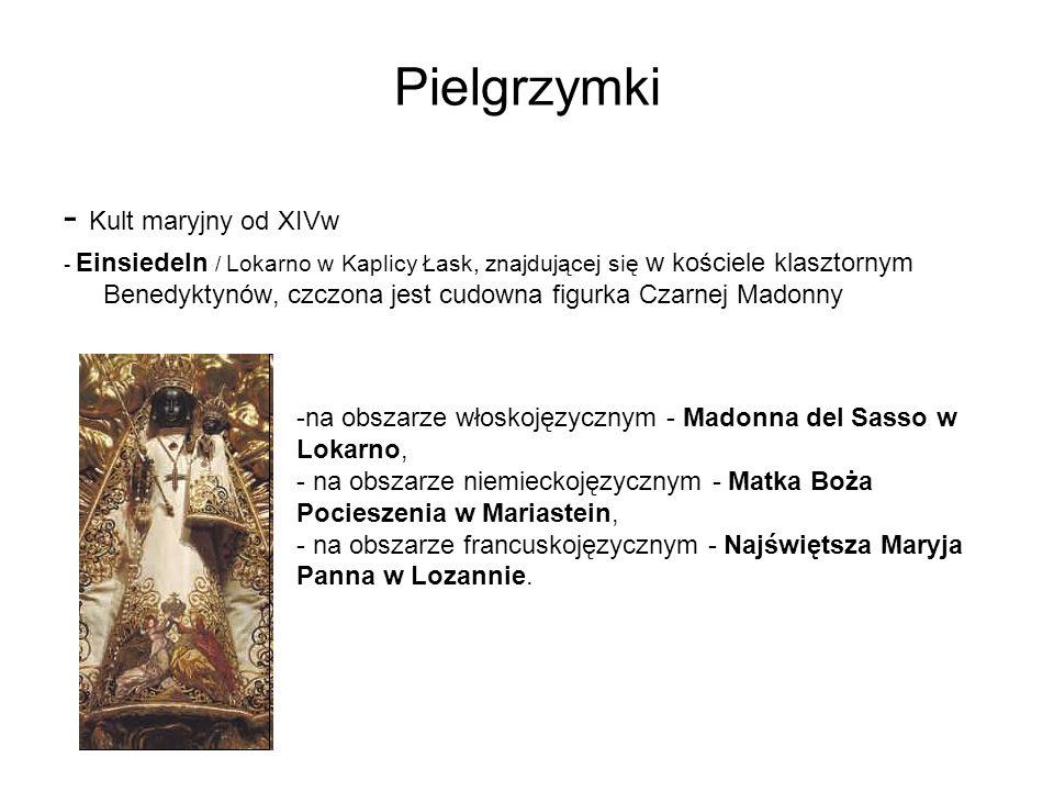 Pielgrzymki - Kult maryjny od XIVw