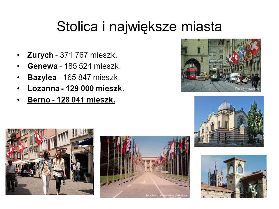 Stolica i największe miasta