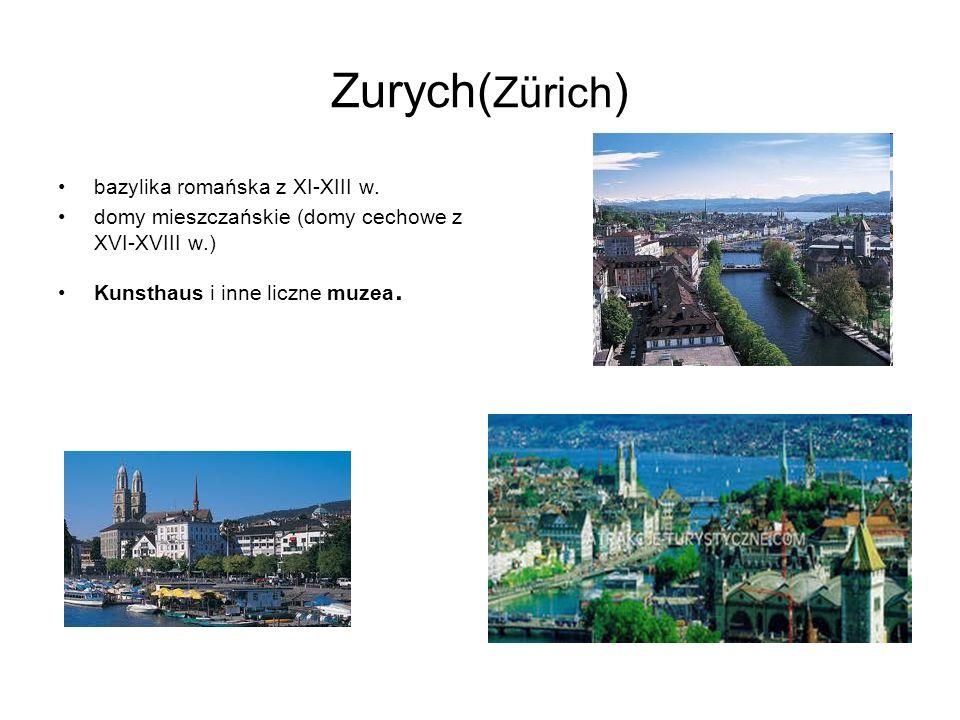 Zurych(Zürich) bazylika romańska z XI-XIII w.