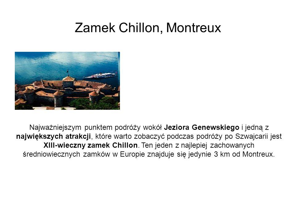 Zamek Chillon, Montreux