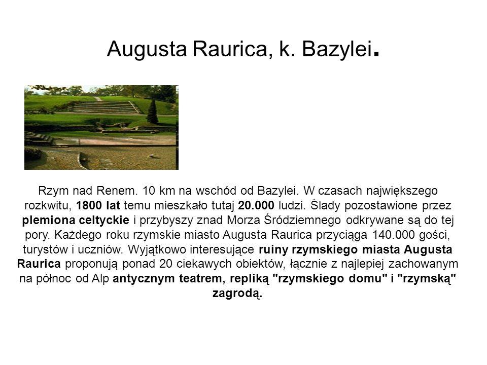 Augusta Raurica, k. Bazylei.