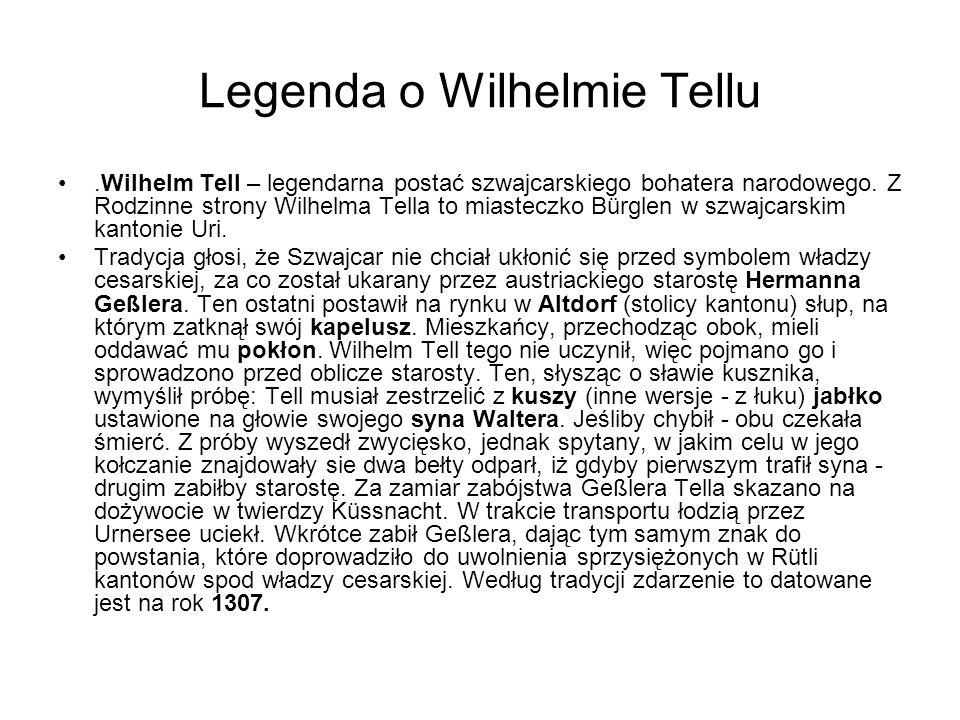 Legenda o Wilhelmie Tellu