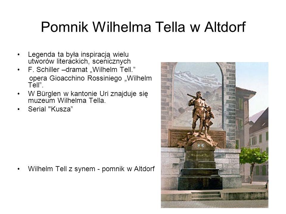Pomnik Wilhelma Tella w Altdorf