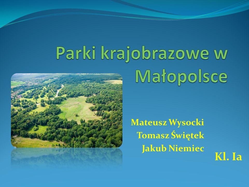 Parki krajobrazowe w Małopolsce