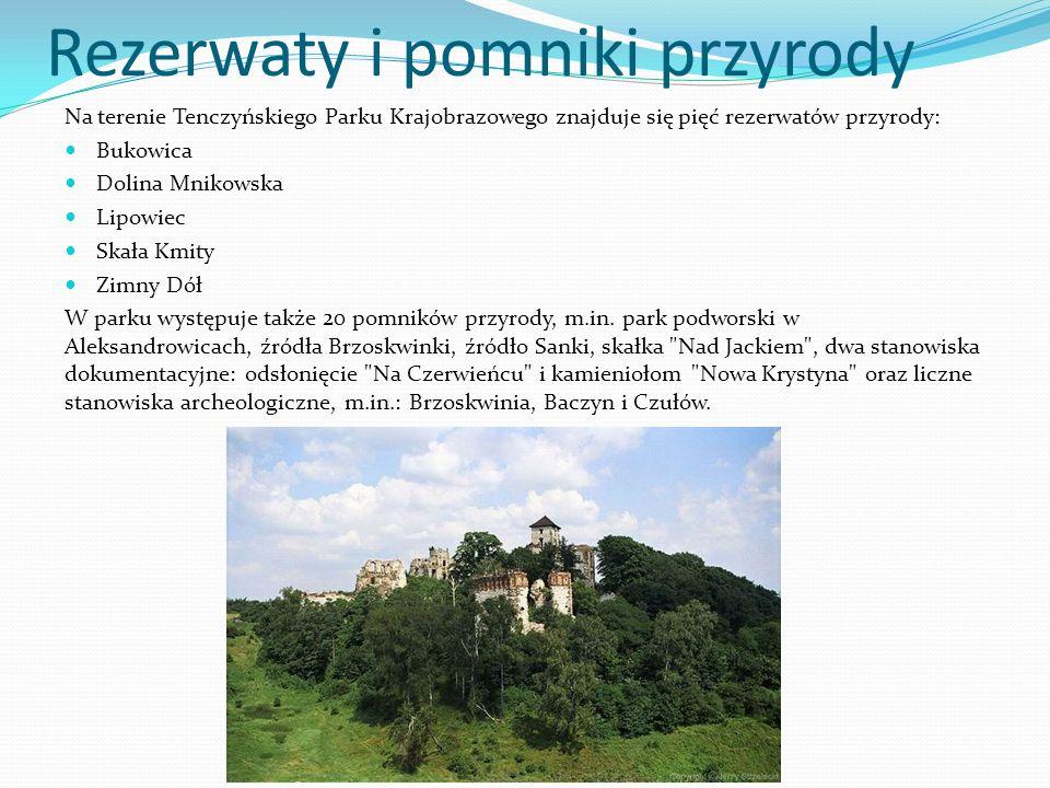 Rezerwaty i pomniki przyrody