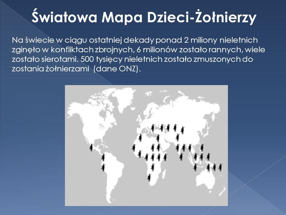 Światowa Mapa Dzieci-Żołnierzy