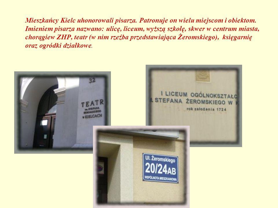 Mieszkańcy Kielc uhonorowali pisarza