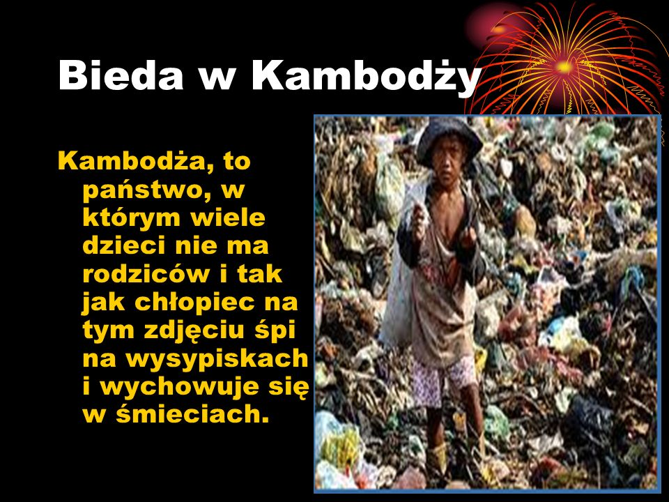 Bieda w Kambodży