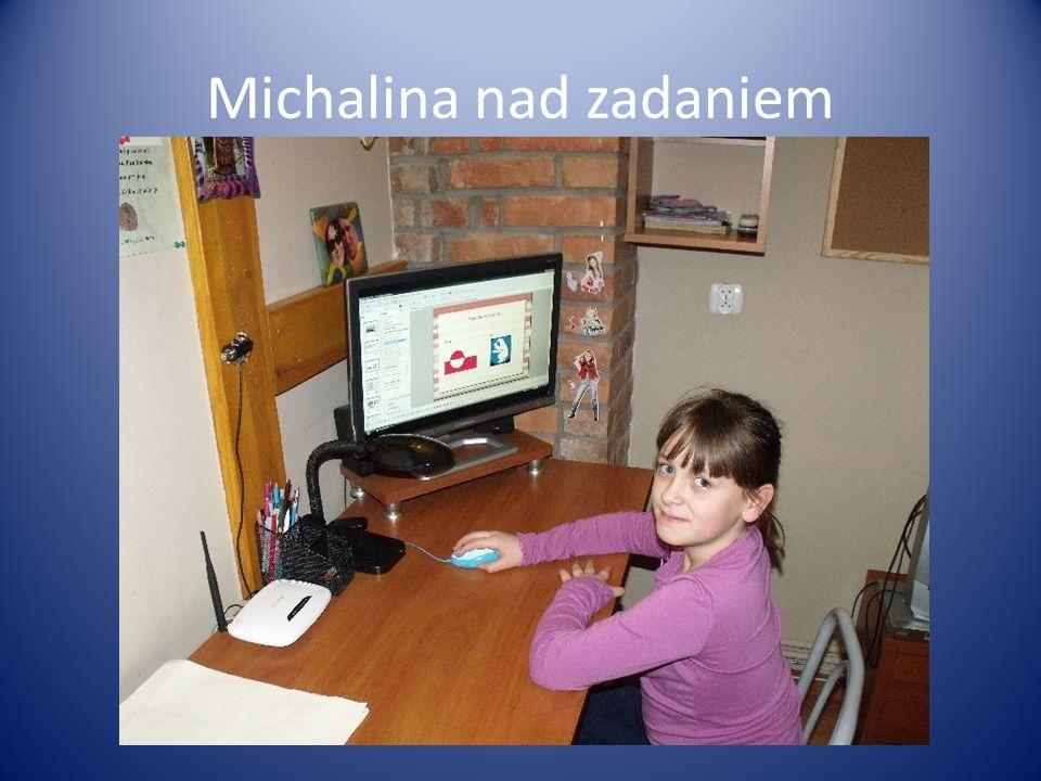 Michalina nad zadaniem