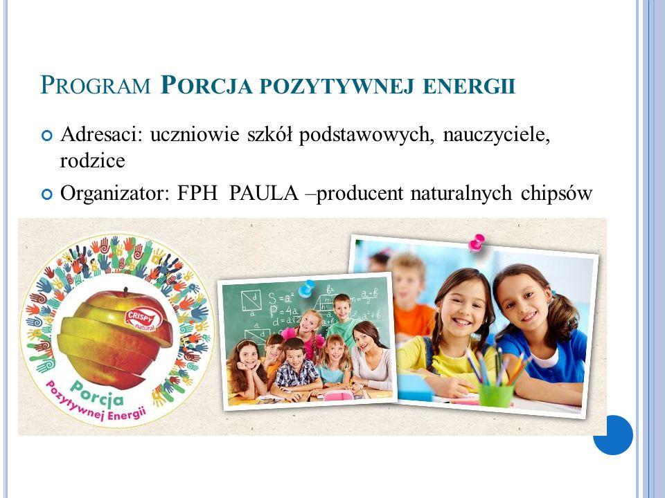 Program Porcja pozytywnej energii