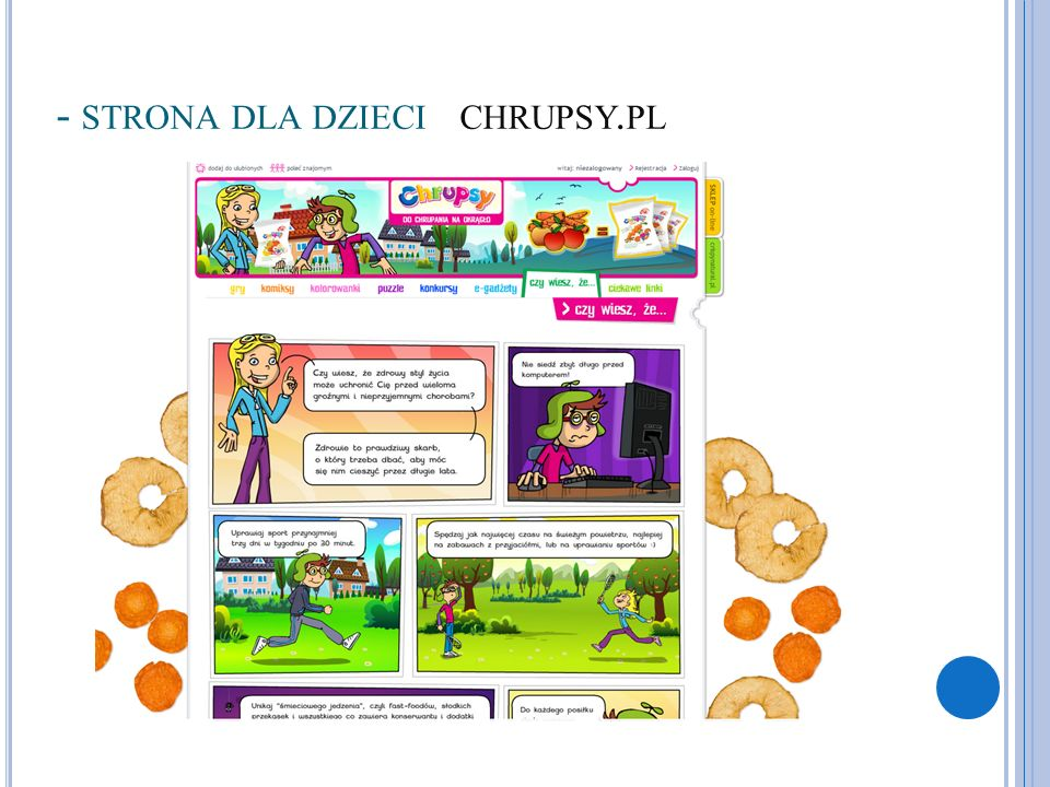 - strona dla dzieci chrupsy.pl