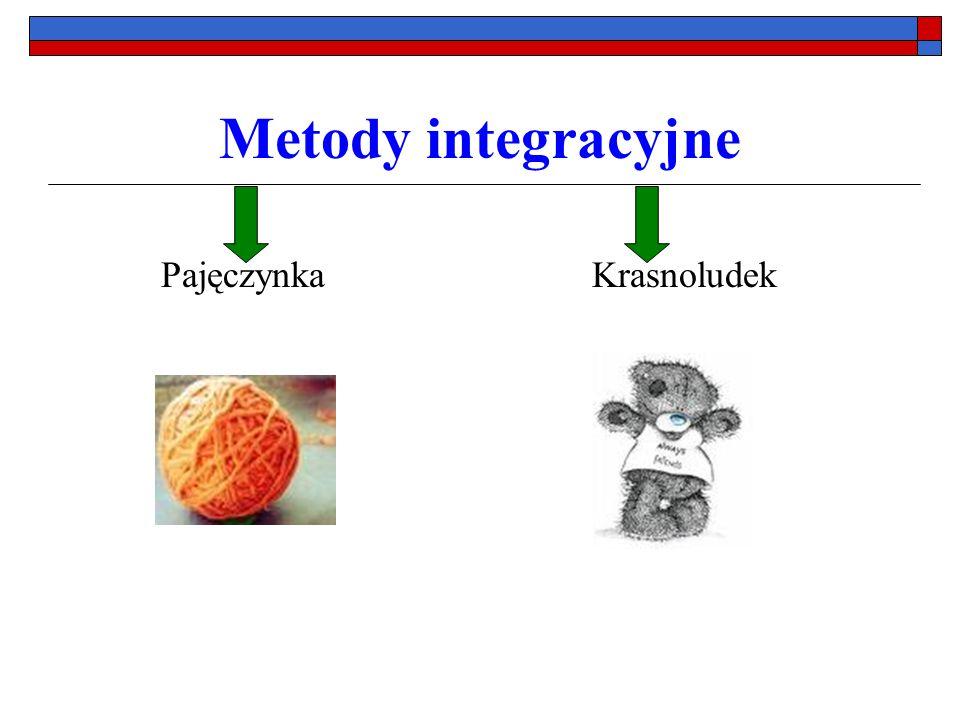 Metody integracyjne Pajęczynka Krasnoludek