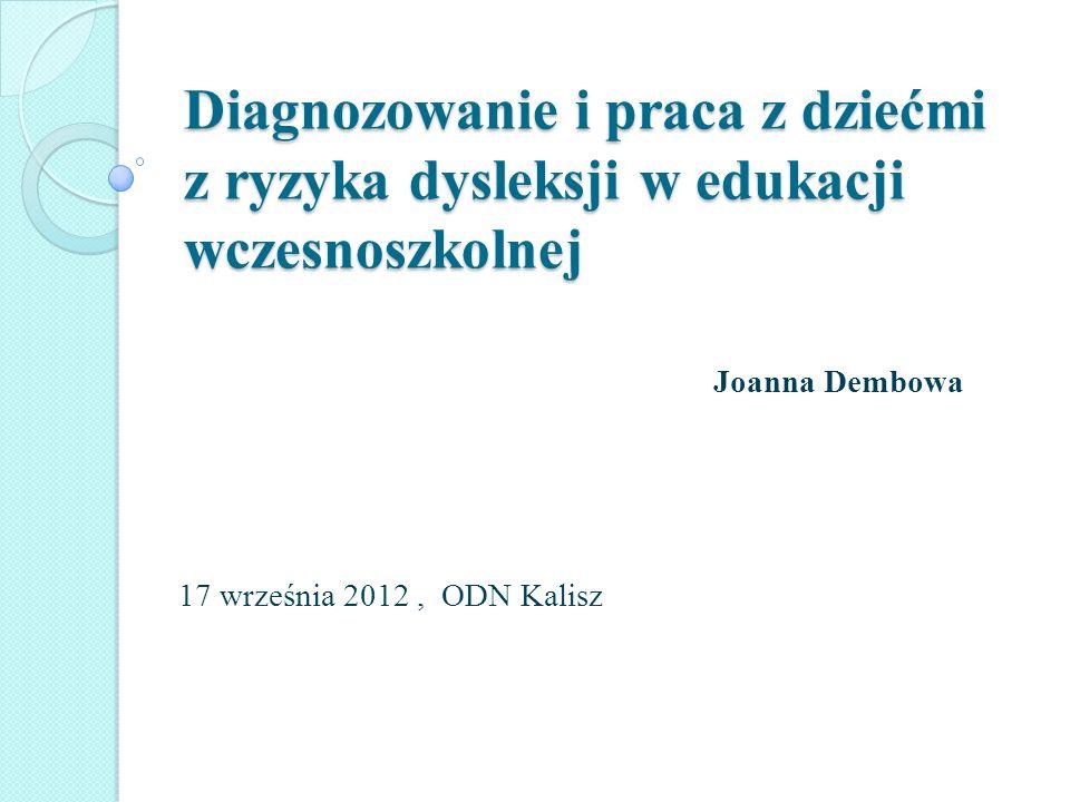 Joanna Dembowa 17 września 2012 , ODN Kalisz