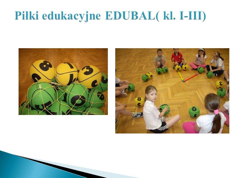 Piłki edukacyjne EDUBAL( kl. I-III)