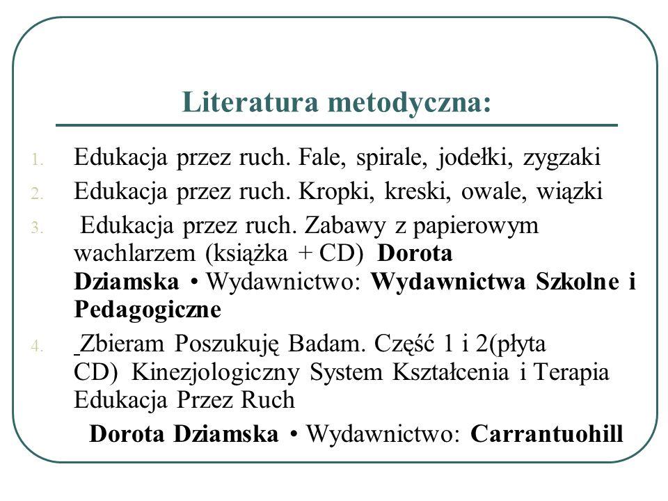 Literatura metodyczna: