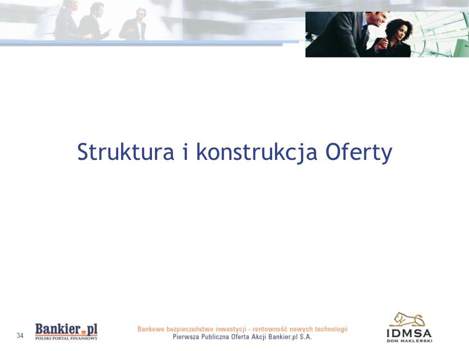 Struktura i konstrukcja Oferty