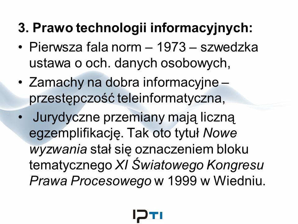 3. Prawo technologii informacyjnych: