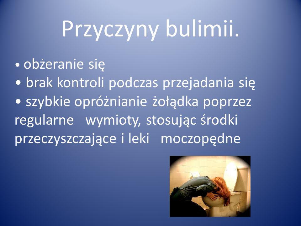 Przyczyny bulimii.