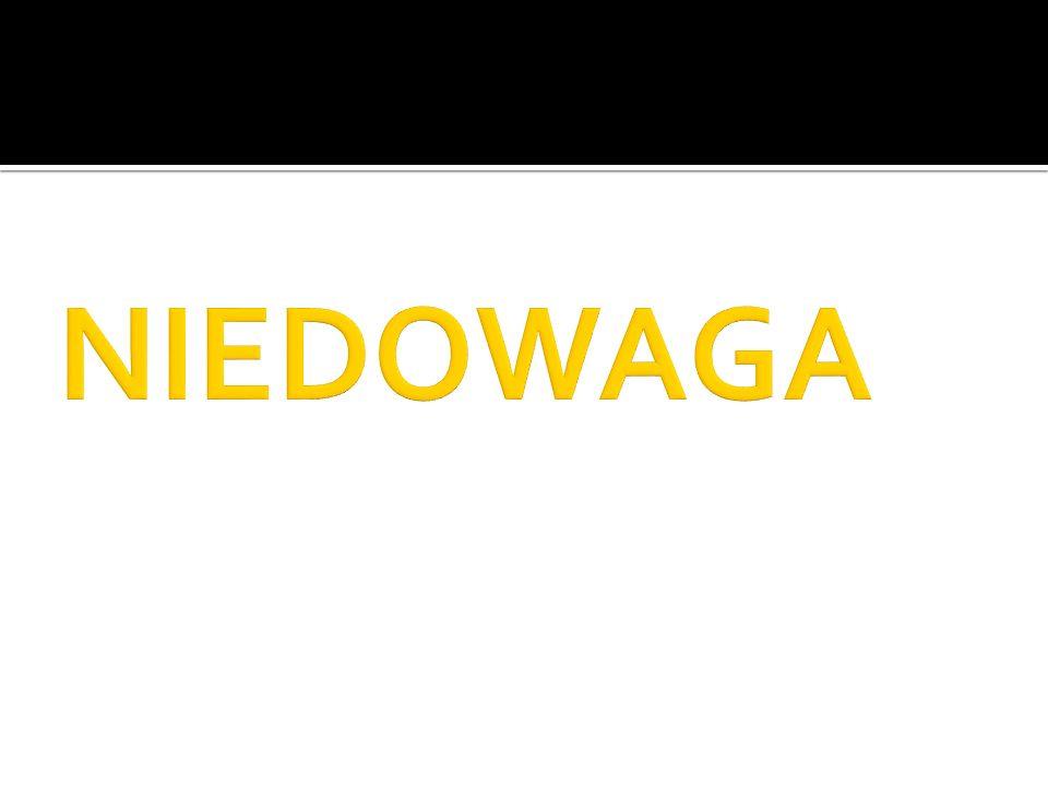 NIEDOWAGA