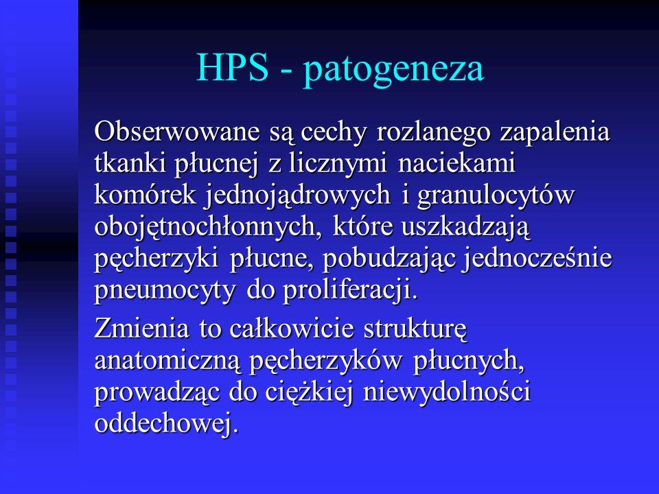HPS - patogeneza