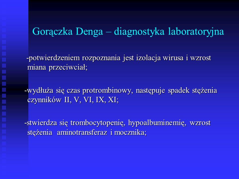 Gorączka Denga – diagnostyka laboratoryjna