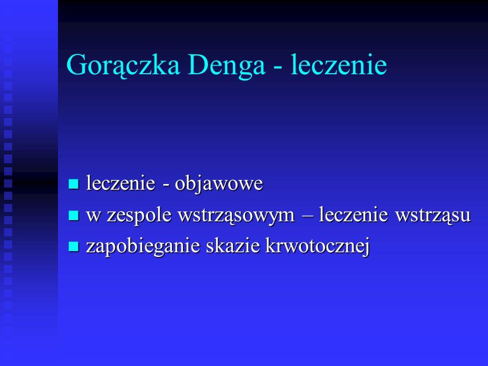 Gorączka Denga - leczenie