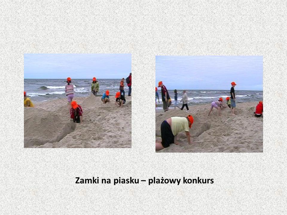 Zamki na piasku – plażowy konkurs
