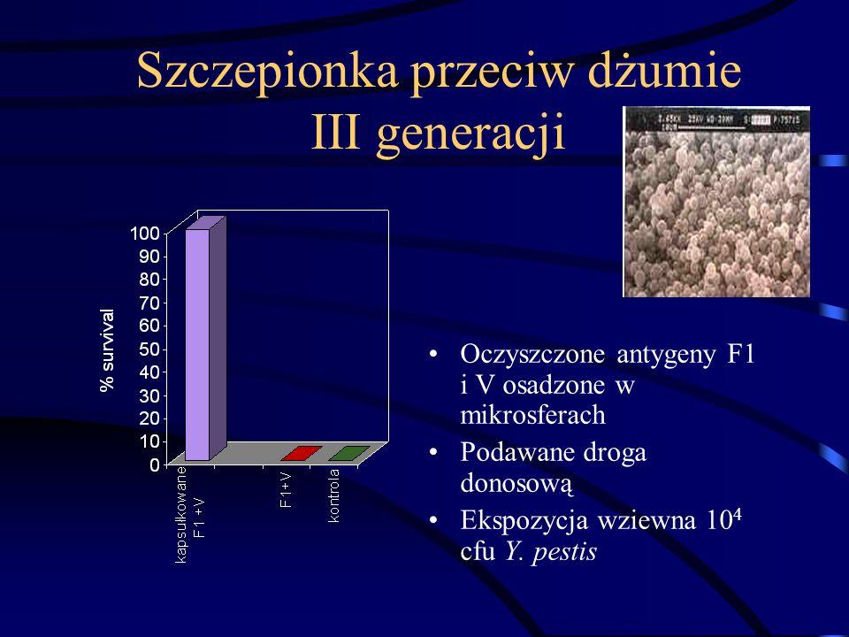 Szczepionka przeciw dżumie III generacji