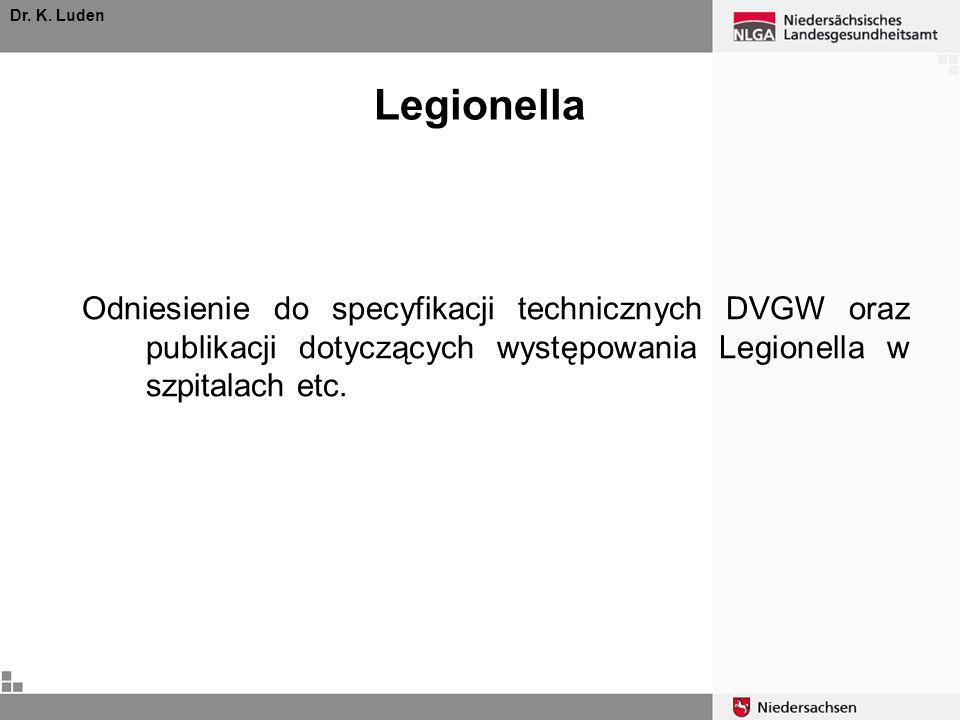 Dr.K. LudenLegionella.