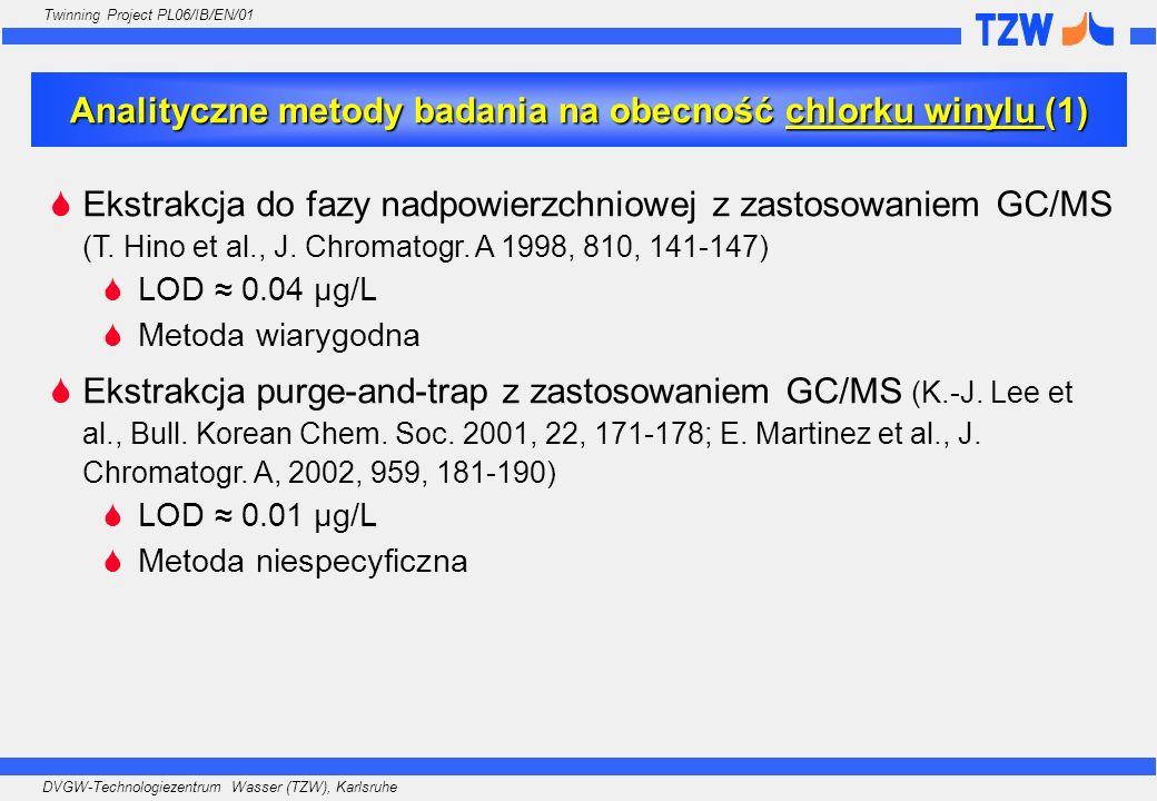 Analityczne metody badania na obecność chlorku winylu (1)