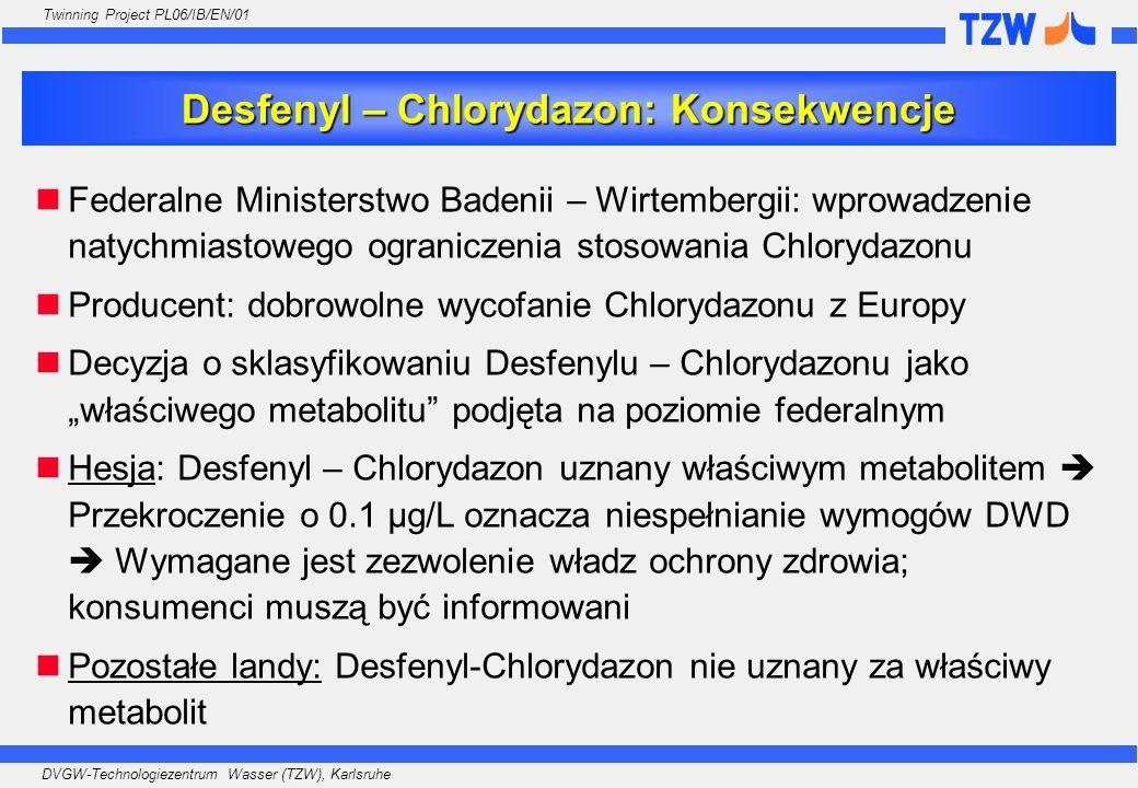 Desfenyl – Chlorydazon: Konsekwencje